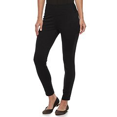 Petite Apt. 9® Tummy-Control High-Waisted Ponte Pants