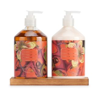 Simple Pleasures Pumpkin Harvest Scented Hand Soap & Hand Lotion Set