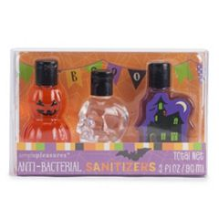 Simple Pleasures Halloween Anti-Bacterial Hand Sanitizers - 3-Pack