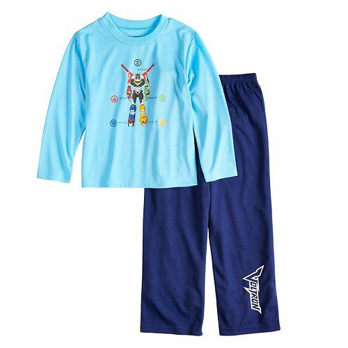 Boys 4-10 Voltron 2-Piece Pajama Set