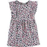 Baby Girl Carter's Cheetah Ruffle Dress