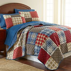 Micro Flannel Quilt Set