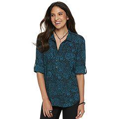 Women's Rock & Republic® Popover Tunic Shirt