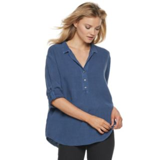 Women's Rock & Republic® Popover Tunic Shirt
