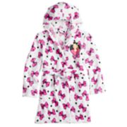 Girls 6-12 JoJo Siwa Bow Plush Hooded Robe