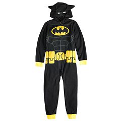 Boys 4-10 Batman Hooded Union Suit
