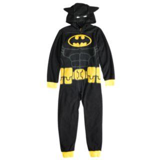Boys 4-10 Batman Hooded Union Suit