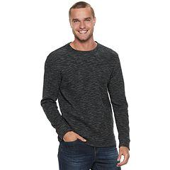 Men's Marc Anthony Slim-Fit Textured Slubbed Crewneck Sweater