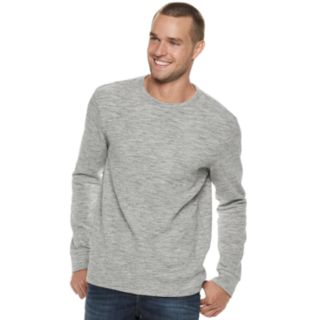 Men's Marc Anthony Slim-Fit Textured Slubbed Crewneck Sweater