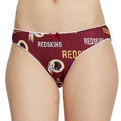 Women's Washington Redskins Midfield Thong Panties