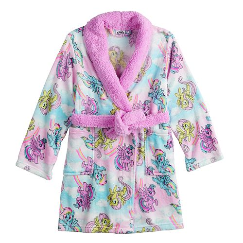 Girls 4-10 My Little Pony Knee Length Plush Robe
