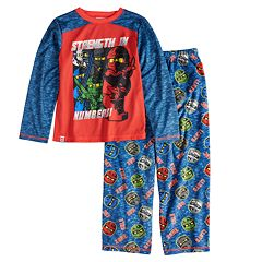 Boys 4-12 Lego Ninjago 2-Piece Pajama Set