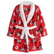 Disney's Minnie Mouse Girls 4-8 Plush Robe