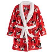 Disney's Minnie Mouse Girls 4-8 Plush Robe