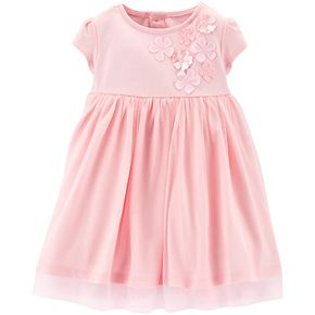 Baby Girl Carter's Floral Tulle Dress