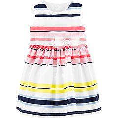 0ebfa77dc Baby Girl Carter's Striped Dress