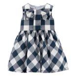 Baby Girl Carter's Gingham Bow Dress
