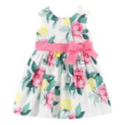 Baby Girl Carter's Floral Bow dress