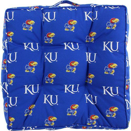 Kansas Jayhawks Floor Pillow or Pet Bed