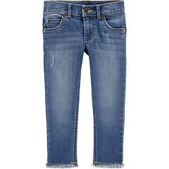 Toddler Girl Carter's Frayed-Hem Skinny Jeans