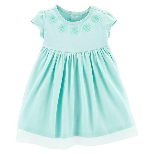 b1562d0868c6 Baby Girl Carter's Floral Tulle Dress