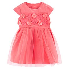 Baby Girl Carter's Flower Tulle Dress