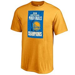 Boys 8-20 Golden State Warriors 2018 NBA Finals Champions Back to Back Tee