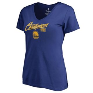 Women's Golden State Warriors 2018 NBA Finals Champions Time to Shine Tee