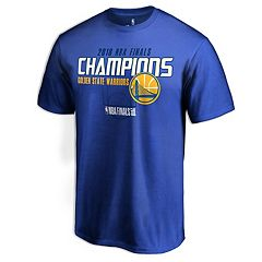 Men's Golden State Warriors 2018 NBA Finals Champions Dot it Better Tee