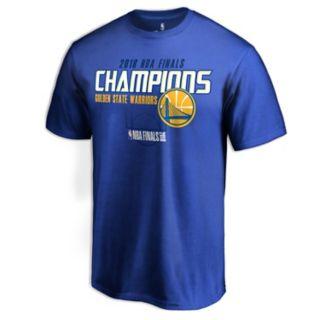 Men's Golden State Warriors 2018 NBA Finals Champions Dot it Better Tee