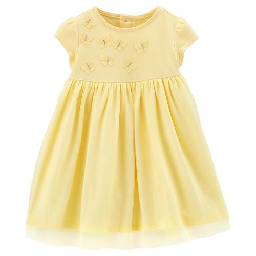 Baby Girl Carter's Butterfly Tulle Dress