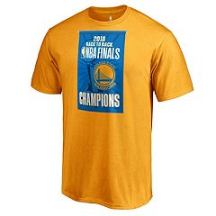 Men's Golden State Warriors 2018 NBA Finals Champions Back to Back Tee