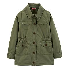 Girls 4-14 Carter's Twill Trench Jacket