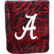 Alabama Crimson Tide Soft Raschel Throw Blanket