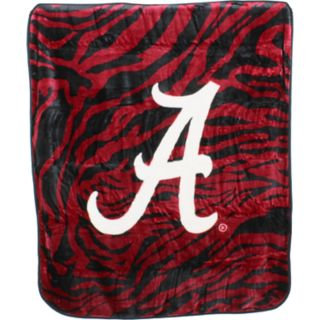 Alabama Crimson Tide Soft Raschel Throw Blanket