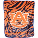 Auburn Tigers Soft Raschel Throw Blanket