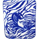 Duke Blue Devils Soft Raschel Throw Blanket