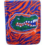 Florida Gators Soft Raschel Throw Blanket