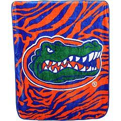 Florida Gators Soft Raschel Throw Blanket