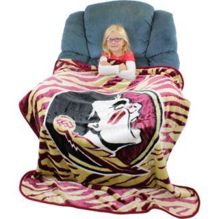 Florida State Seminoles Soft Raschel Throw Blanket
