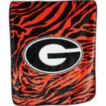 Georgia Bulldogs Soft Raschel Throw Blanket