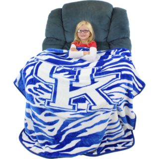 Kentucky Wildcats Soft Raschel Throw Blanket