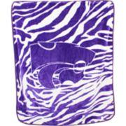 Kansas State Wildcats Soft Raschel Throw Blanket