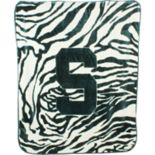 Michigan State Spartans Soft Raschel Throw Blanket