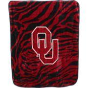 Oklahoma Sooners Soft Raschel Throw Blanket
