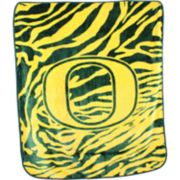 Oregon Ducks Soft Raschel Throw Blanket