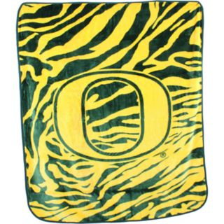 Oregon Ducks Soft Raschel Throw Blanket
