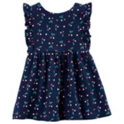 Baby Girl Carter's Cherries Dress