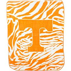 Tennessee Volunteers Soft Raschel Throw Blanket