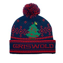 National Lampoon's Christmas Vacation Griswold Cuffed Pom Beanie